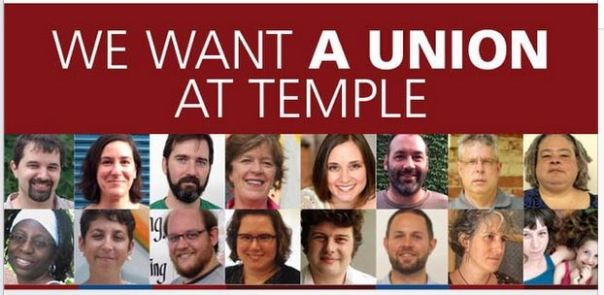 we want a union at temple